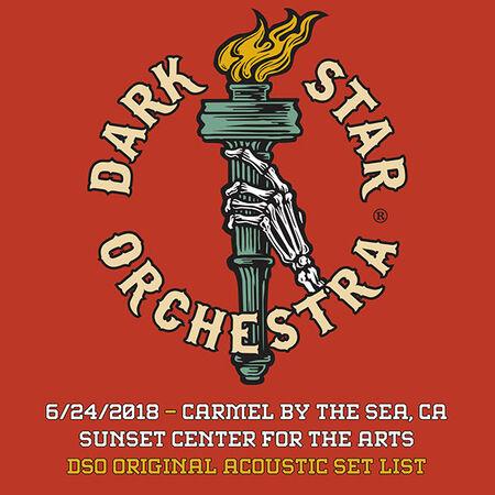 06/24/18 Sunset Center, Carmel By The Sea, CA