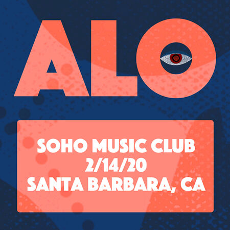 02/14/20 Soho Music Club, Santa Barbara, CA