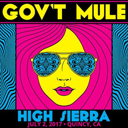 07/02/17 High Sierra Music Festival, Quincy, CA
