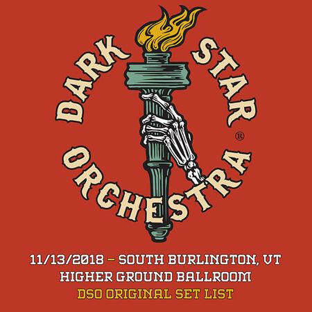 11/13/18 Higher Ground Ballroom, Burlington, VT