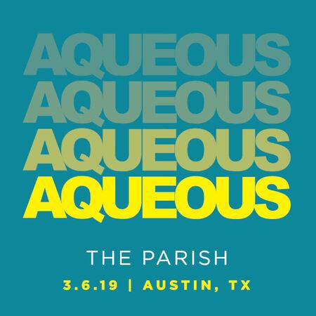 03/06/19 The Parish, Austin, TX