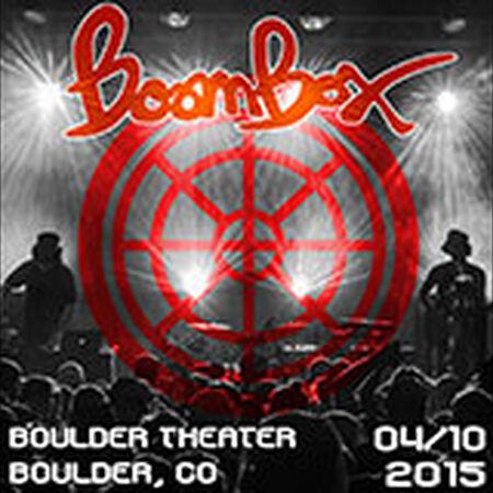 04/10/15 Boulder Theater, Boulder, CO