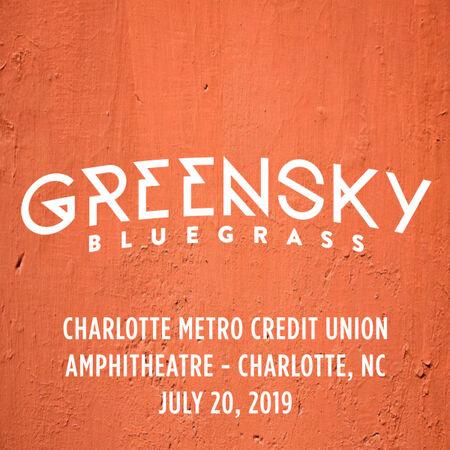 07/20/19 Charlotte Metro Credit Union Amphitheatre, Charlotte, NC