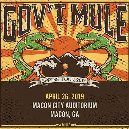 04/26/19 Macon City Auditorium, Macon, GA
