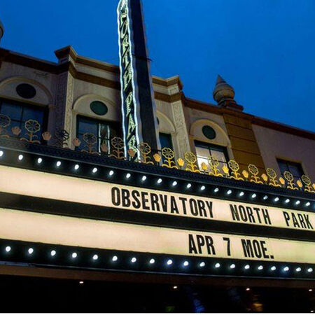 04/07/16 The Observatory North Park, San Diego, CA