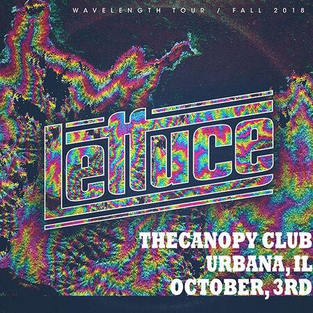 10/03/18 Canopy Club, Urbana, IL