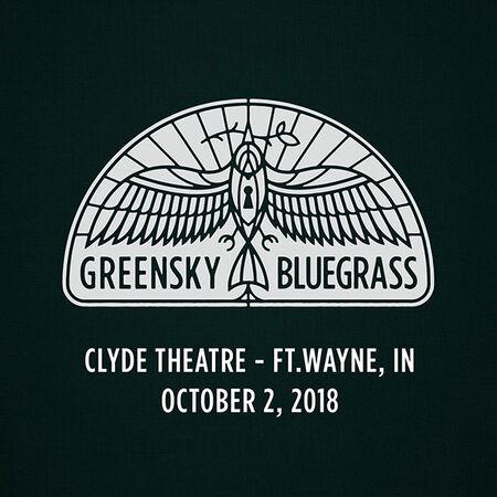 10/02/18 Clyde Theatre, Ft.Wayne, IN