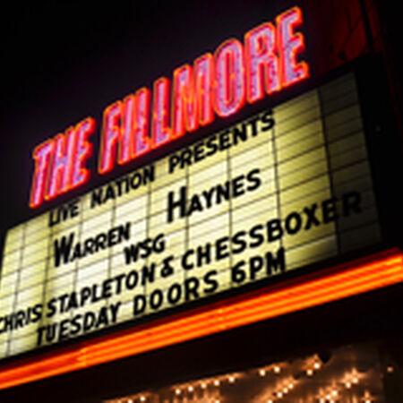 09/29/15 The Fillmore, Detroit, MI