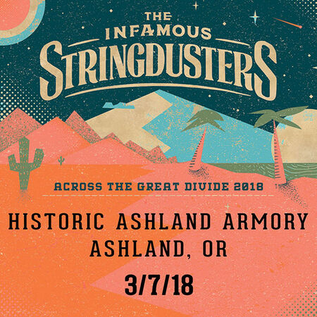 03/07/18 Live At The Armory, Ashland, OR