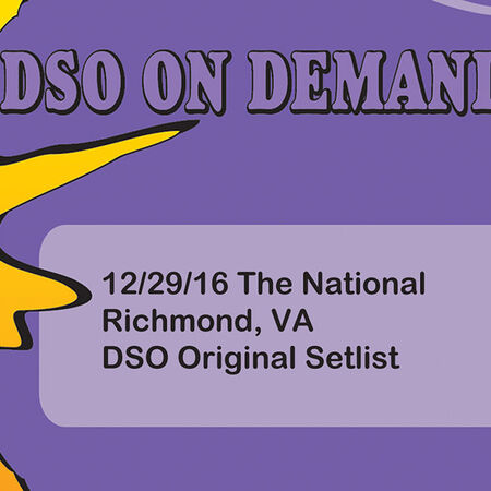 12/29/16 The National, Richmond, VA