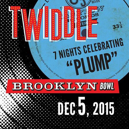 12/05/15 Brooklyn Bowl, Brooklyn, NY