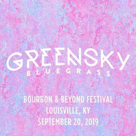 09/20/19 Bourbon & Beyond Festival, Louisville, KY