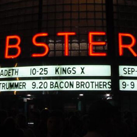 09/08/01 Webster Theater, Hartford, CT