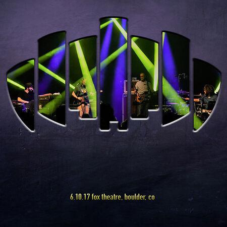06/10/17 Fox Theatre, Boulder, CO