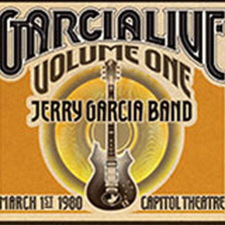 03/01/80 GarciaLive Vol. 1 - Capitol Theatre, Passaic, NJ