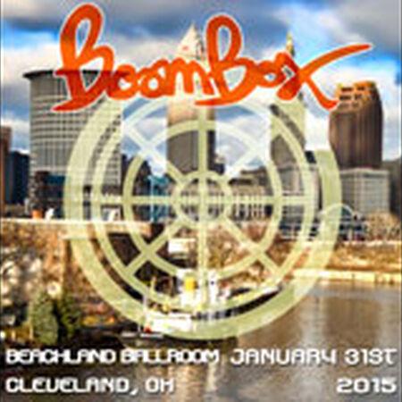 01/31/15 Beachland Ballroom, Cleveland, OH
