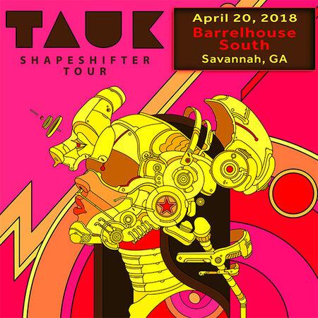 04/20/18 Barrelhouse South, Savannah, GA