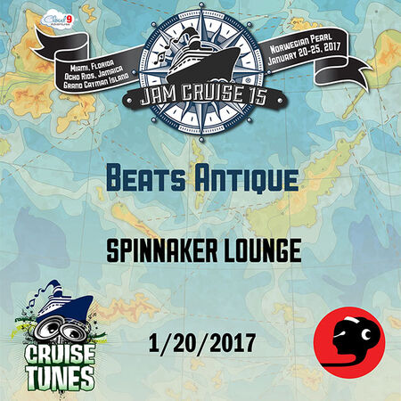 01/20/17 Spinnaker Lounge, Jam Cruise, US