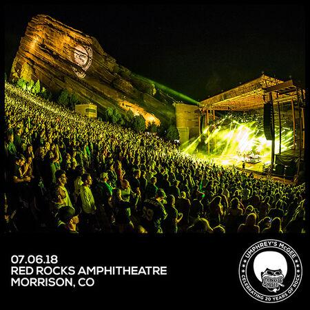 07/06/18 Red Rocks, Morrison, CO