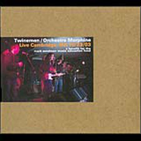2003/10/23 Live Cambridge, MA