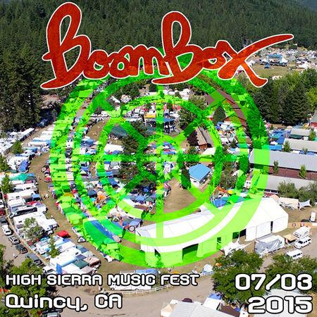 07/03/15 High Sierra Music Festival, Quincy, CA