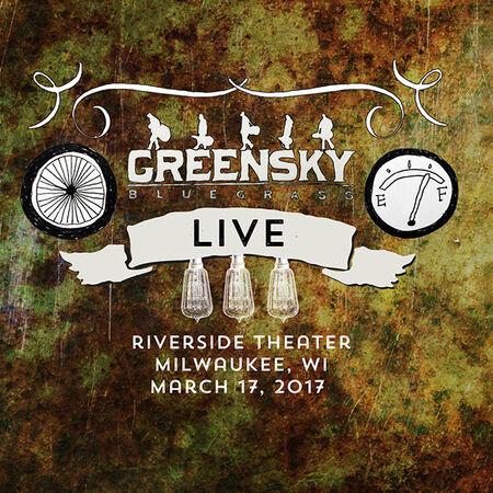 03/17/17 Riverside Theater, Milwaukee, WI