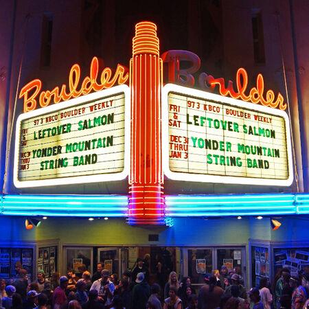 11/28/14 Boulder Theater, Boulder, CO