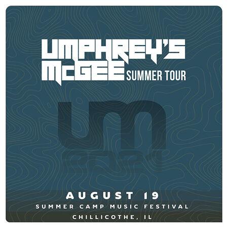 08/19/21 Summer Camp Music Festival, Chilicothe, IL
