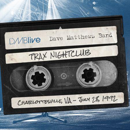 07/28/92 Trax, Charlottesville, VA