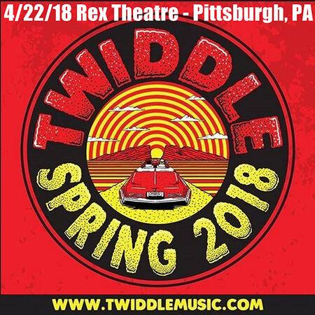04/22/18 Rex Theater, Pittsburgh, PA
