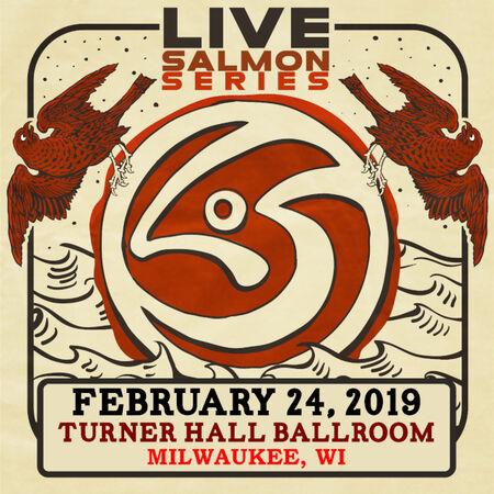 02/24/19 Turner Hall Ballroom, Milwaukee, WI