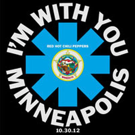 10/30/12 Target Center, Minneapolis, MN