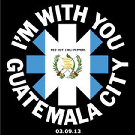 03/09/13 Tigo Festival (Estadio Mateo Flores), Guatemala City, GT