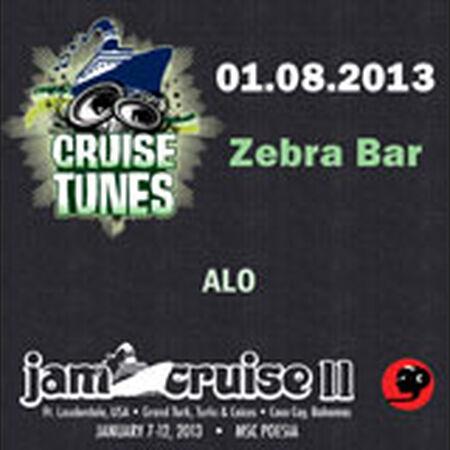 01/08/13 Zebra Bar, Jam Cruise, US