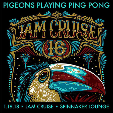 01/19/18 Spinnaker Lounge, Jam Cruise, US