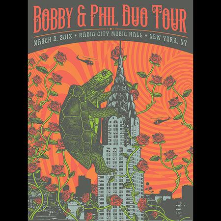 03/02/18 Radio City Music Hall, New York, NY