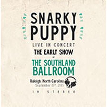 09/15/15 Southland Ballroom, Early Show - Raleigh, NC