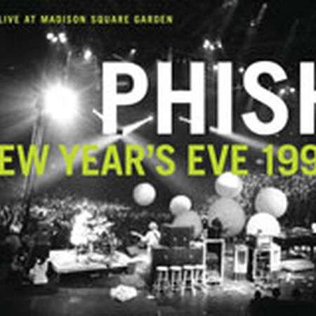 12/31/95 Madison Square Garden, New York, NY