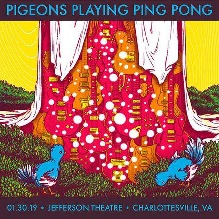 01/30/19 Jefferson Theatre, Charlottesville, VA