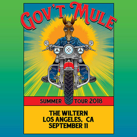 09/11/18 The Wiltern, Los Angeles, CA