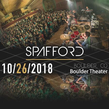 10/26/18 Boulder Theater, Boulder, CO
