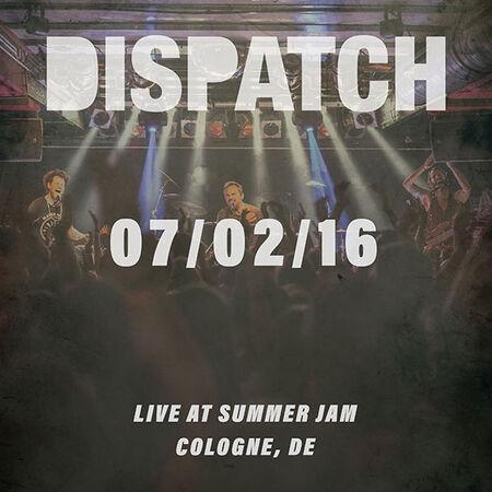 07/02/16 Summer Jam, Cologne, DE