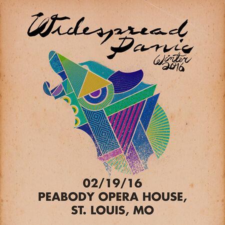 02/19/16 Peabody Opera House, St. Louis, MO