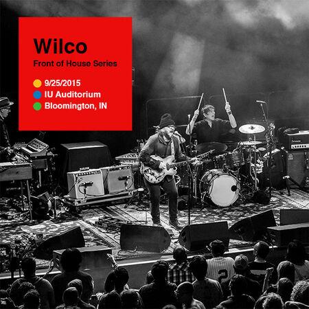 09/25/15 IU Auditorium, Bloomington, IN