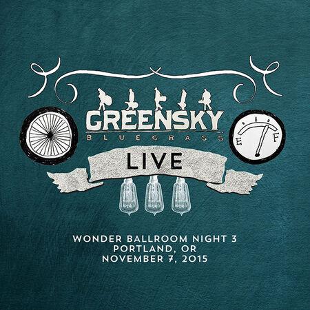 11/07/15 Wonder Ballroom, Portland, OR