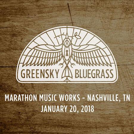 01/20/18 Marathon Music Works, Nashville, TN