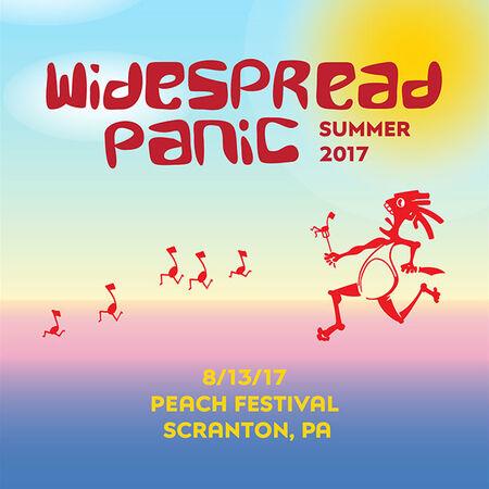 08/13/17 The Peach Music Festival, Scranton, PA