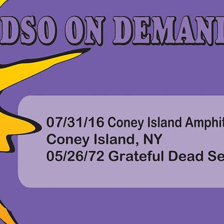 07/31/16 Coney Island Amphitheater, Brooklyn , NY