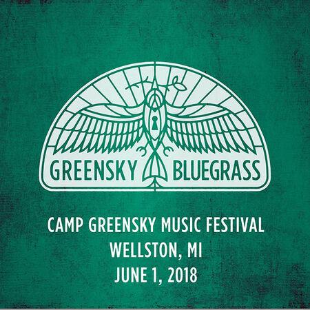 06/01/18 Camp Greensky Music Festival, Wellston, MI