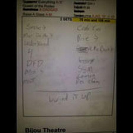 02/13/13 Bijou Theater, Knoxville, TN